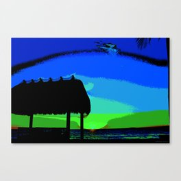 Florida Keys Sunset PA Canvas Print
