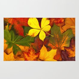 Colorful Autumn Rug