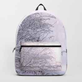 Snowy Landscape Backpack