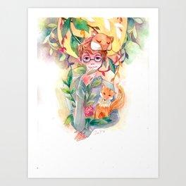 Gem Art Print
