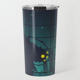 bioshock big daddy Travel Mug
