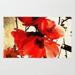 Spring Red 3, Royal Botanical Gardens - Melbourne Rug