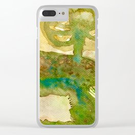 Burrow in Pennsylvania Countryside Clear iPhone Case