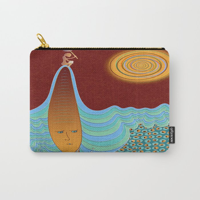 The Young Man And The Sea Carry-All Pouch