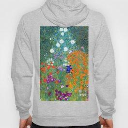 Gustav Klimt Flower Garden Hoody