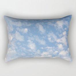 Cotton Clouds Rectangular Pillow