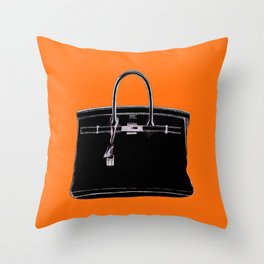 FRENCH CLASSIC BAG Throw Pillow