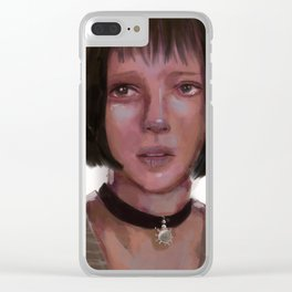 Mathilda Clear iPhone Case