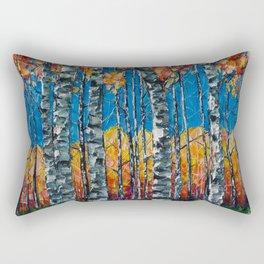 Aspen Grove by Lena Owens Rectangular Pillow