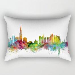 Dubai Skyline Rectangular Pillow