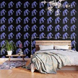 Elephant and fractal Wallpaper