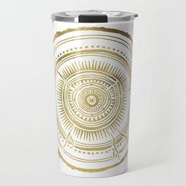 Quaking Aspen – Gold Tree Rings Travel Mug