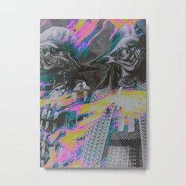 R U SATISFIED II Metal Print