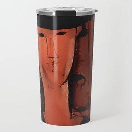 "Amedeo Modigliani ""Madame Pompadour"" Travel Mug"