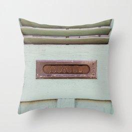 Mail Throw Pillow