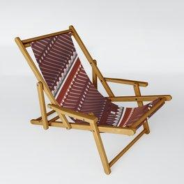 Pagoda roof pattern Sling Chair
