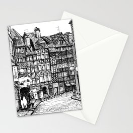 Half-Timbered Stationery Cards