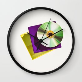 Lo-Fi goes 3D - The Compact Disc Wall Clock