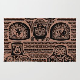 Maui Tattoos Inspired Moana Rug