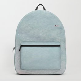 beach - the swimmer Backpack