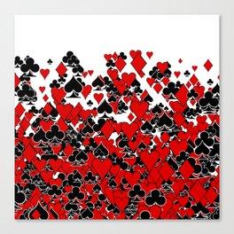 Poker Star Canvas Print