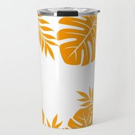 Paradise in Tangerine Travel Mug