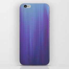 Violet Chromatic iPhone Skin
