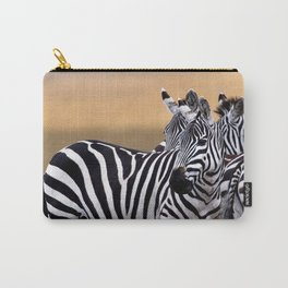 Sunset Strip & Stripes Carry-All Pouch