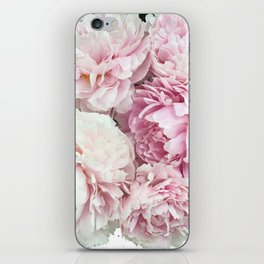 A bunch of peonies iPhone Skin