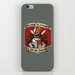 Lord Shaxx is the Crucible iPhone Skin