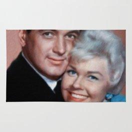 Rock Hudson and Doris Day Rug