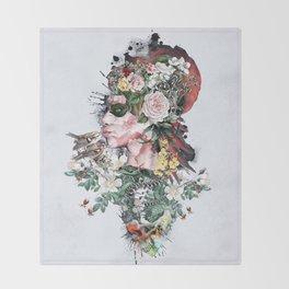 Queen of Nature Throw Blanket