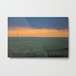 Base Pond, Saint Marie MT 3 Metal Print