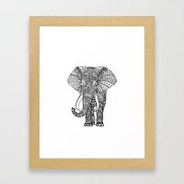 brightness's elephant. Framed Art Print