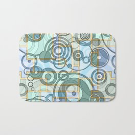 In the Works-Abstract Art Bath Mat
