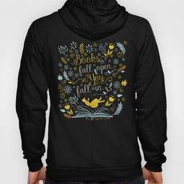Books Fall Open, You Fall In Hoody
