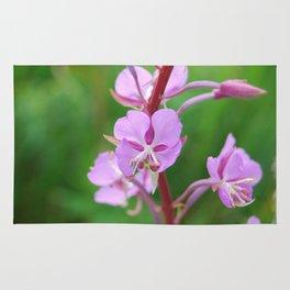 Fireweed Wildflower Rug