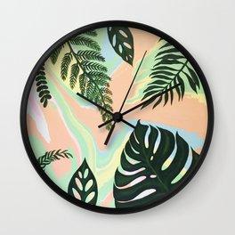 Nature's Grace Wall Clock