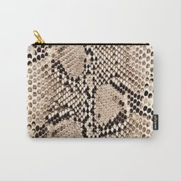 Snake skin art print Carry-All Pouch
