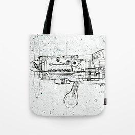 FW - 190 ( B & W) Tote Bag