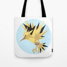 Zapdos Illustration Tote Bag