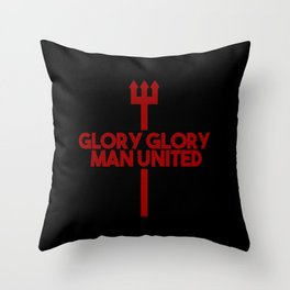 Glory MAN UNITED Throw Pillow