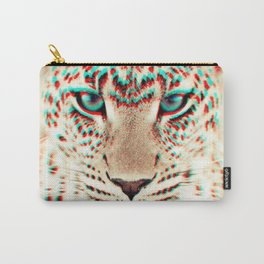 leopard 3D Carry-All Pouch