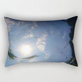 Bubble Light 2 Rectangular Pillow