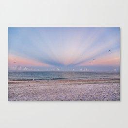 Sunrise Rays Canvas Print