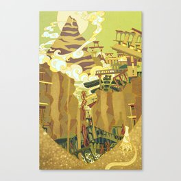 A Journey Canvas Print