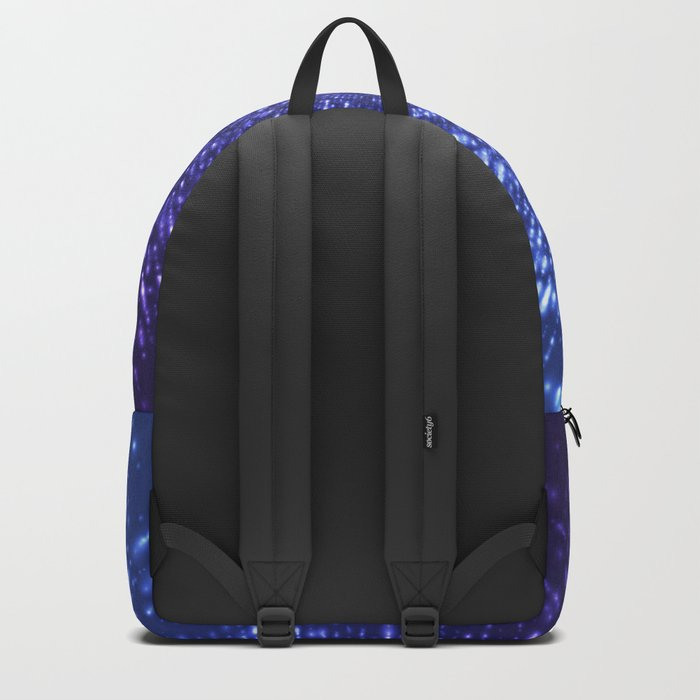 Sci Fi Abstract Outer Space Universe  Mystic Blue Backpack