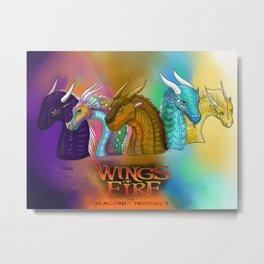 wings of fire 10 Metal Print