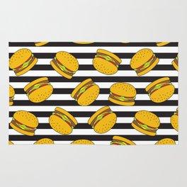 Burger Stripes By Everett Co Rug