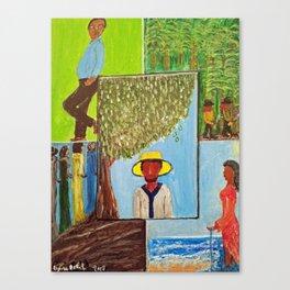Storytellers I Canvas Print